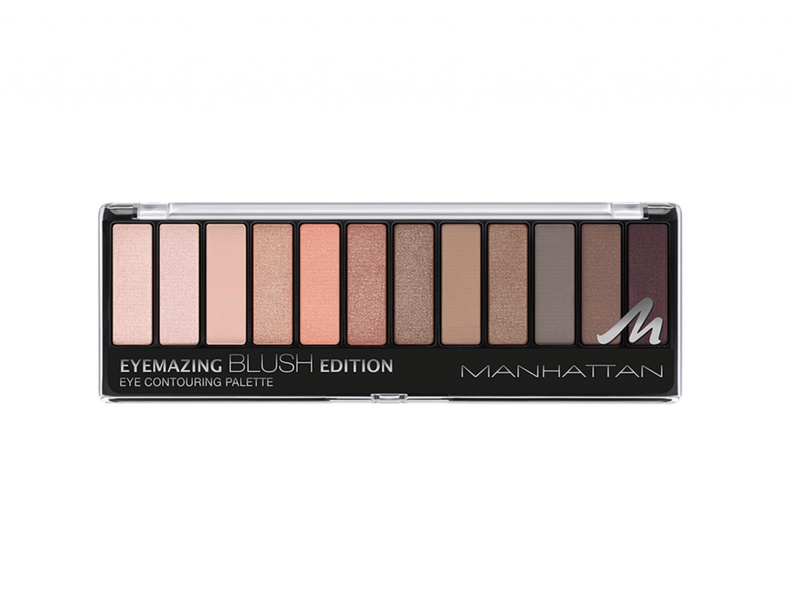 Manhattan Eyemazing Nudes Eyeshadow Palette - Truly Fair