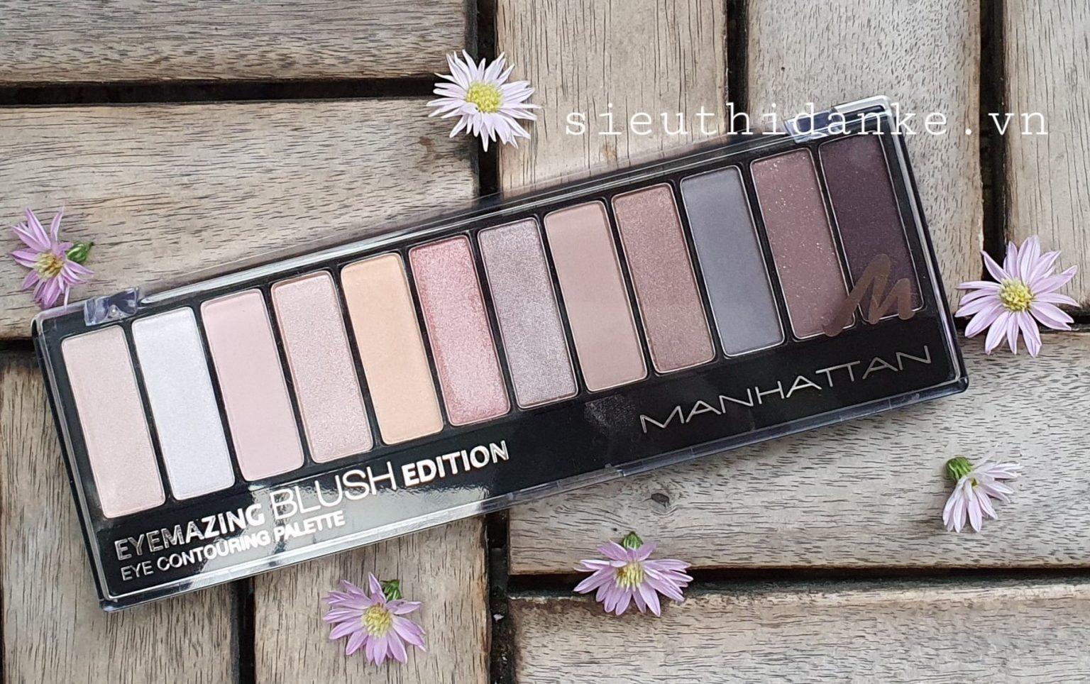 Manhattan, Eyemazing Nudes, Eyeshadow Palette (Paleta 8