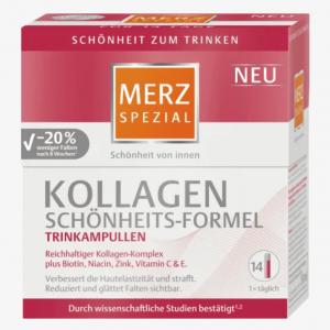 Collagen nước Merz Spezial Kollagen